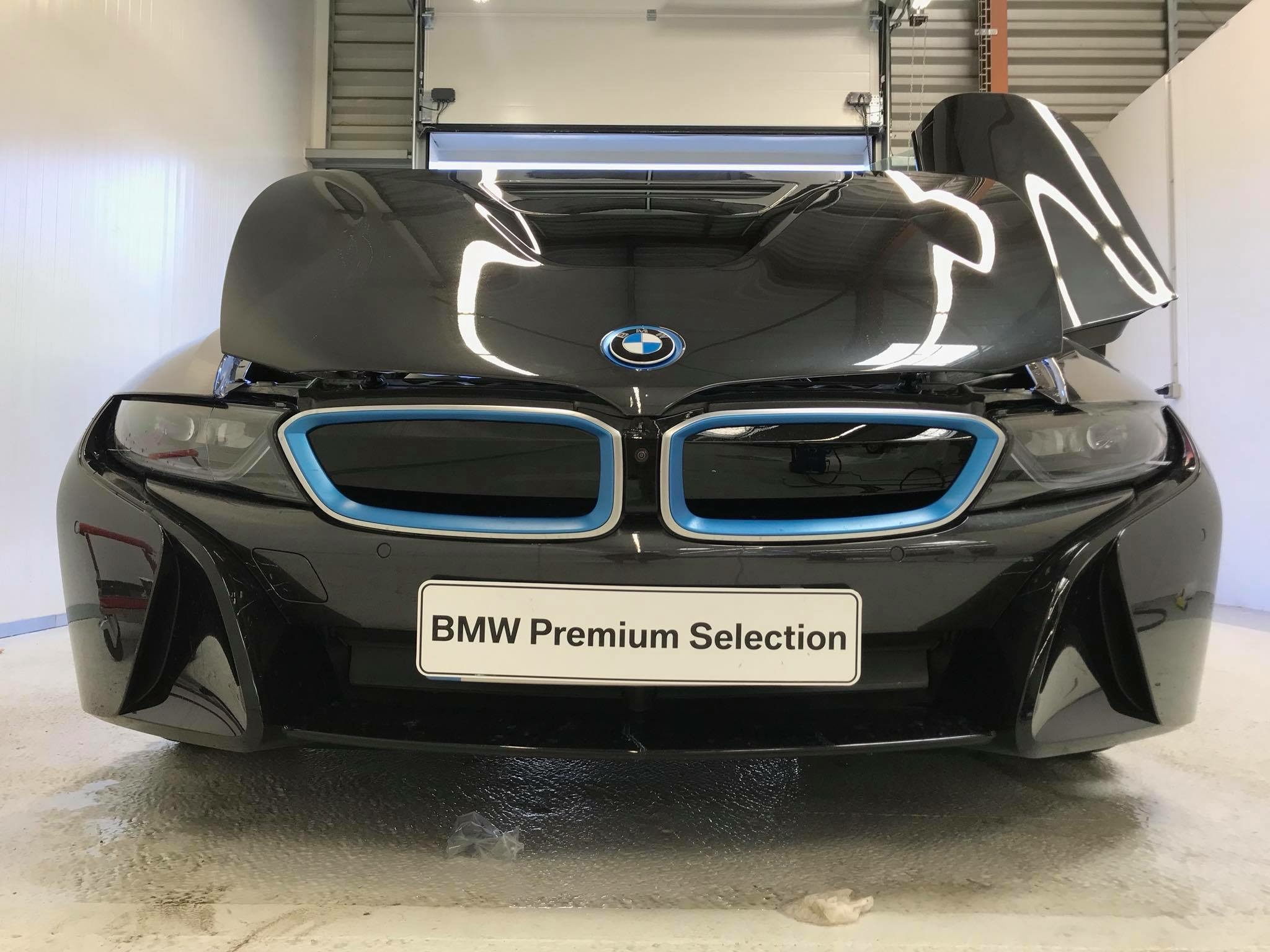 Bodyfence protection de carrosserie BMW I8 Roadster groupe Lempereur