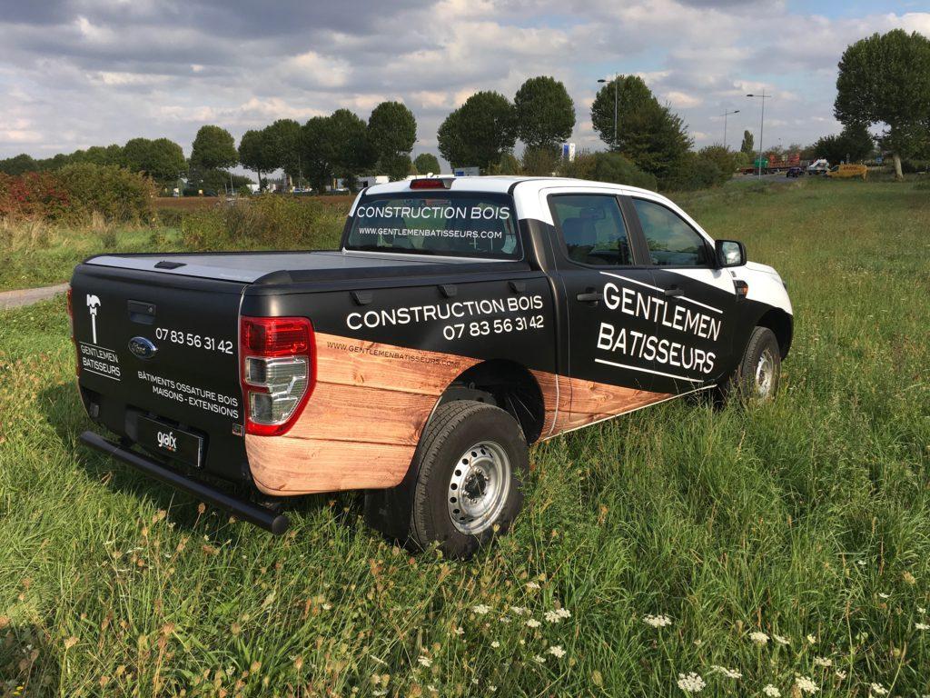 Semi covering sur Ford Ranger pour les Gentlemen Batisseurs