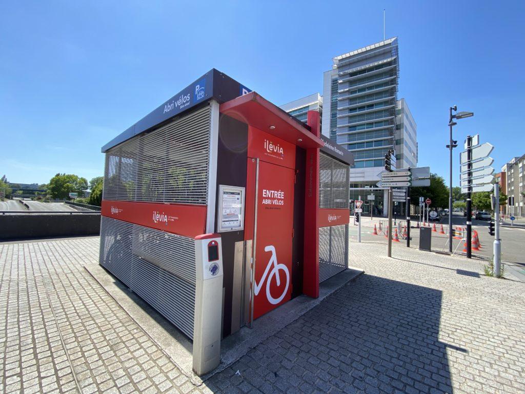 Décoration des abris de vélo ILEVIA